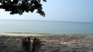 The hard life of my feet (part 1) - In Sihanoukville (Cambodgia) 2010