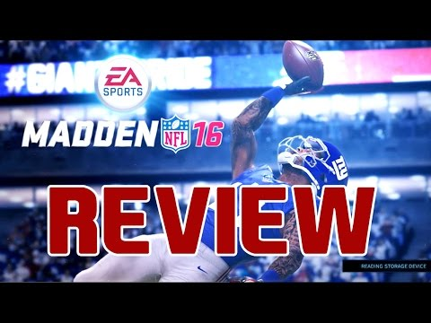 Madden 16 Review - Is It Worth It? PS4/Xbox One