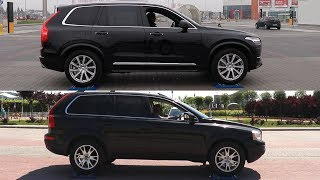 2018 Volvo XC90 D5 AWD vs 2008 Volvo XC90 D5 AWD - 4x4 test on rollers