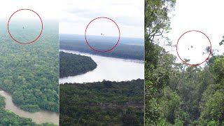 Asteroid UFO Sightings Captured in 3 Various Angle by National Geographic Photographer over Congo