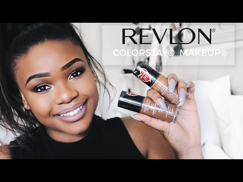 Revlon® ColorStay® Makeup | Unboxing, Tutorial & Review | Cynthia Gwebu