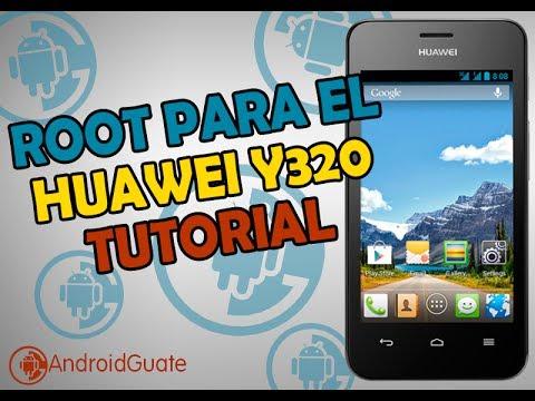 Tutorial Root para el Huawei Y320 FACILISIMO SIN PC!!