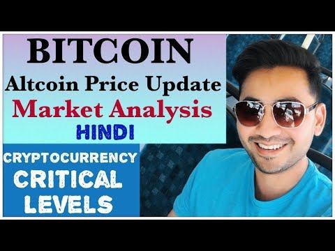 Bitcoin Btc Altcoin price update analysis Hindi Trx Eos Ada Sia coin Ripple Ethereum Litecoin