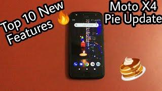 Moto X4 Pie Update 9.0 Top 10 New Features 🔥