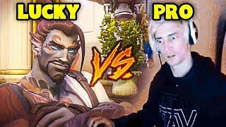 Overwatch - LUCKY vs PRO