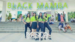 KPOP IN PUBLIC CHALLENGE AESPA 에스파 - 'BLACK MAMBA' Dance Cover by C-ÆSPA
