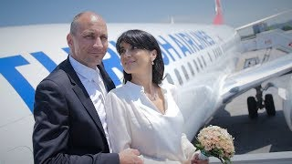 Wedding Above The Clouds - Turkish Airlines