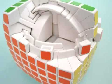 Thumb Armar el Cubo Rubik de 7x7x7 es como ensamblar una mini Death Star
