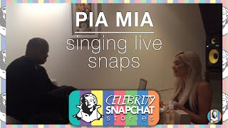 PIA MIA Singing Snapchat Compilation VOL. 1 (Hold On We