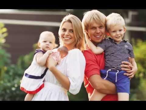 Семейная фотосессия Даша и Антон Лето Природа