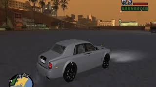 My new 'ROLLS ROYCE' in 'GTA SAN ANDREAS'!!!!