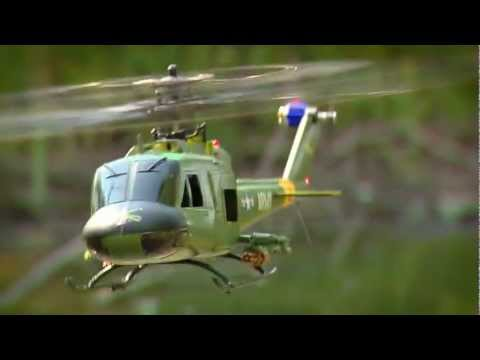SR UH-1 Huey Gunship RTF by BLADE