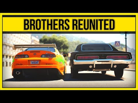 Forza Horizon 2 - Brothers Reunited - Paul Walker Tribute