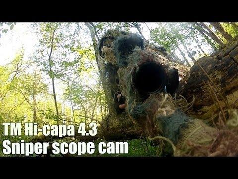AWA Herts Airsoft Sniper scope cam TM VSR-10 G-spec Hi capa 4.3