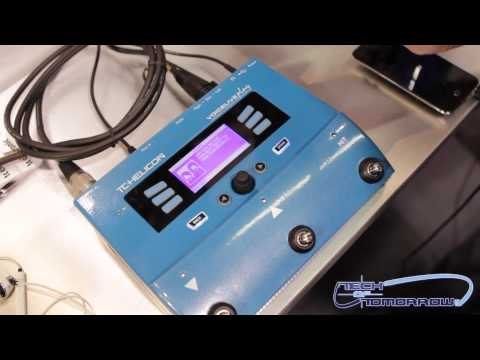 Hands-On: TC-Helicon VoiceLive Play Vocal FX & Harmony pedal (Demo)