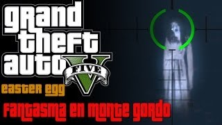 "GTA V | Easter Egg | Fantasma en el ""Monte Gordo"""