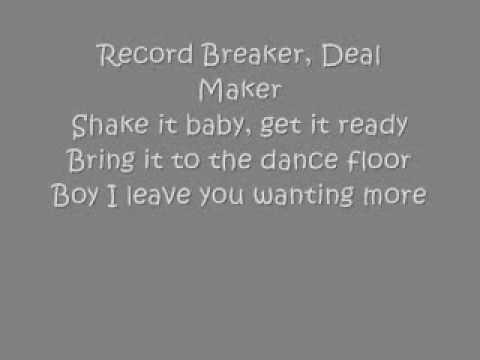 Record Breaker -Sarah Geronimo Lyrics