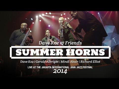 Summer Horns Live at Java Jazz Festival 2014