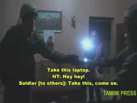 Rare peek at nightly raids of West Bank village (Nabi Saleh) w/English subs