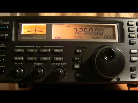 7250khz,R.BANGLADESH BETAR,Dhaka,BGD,English.