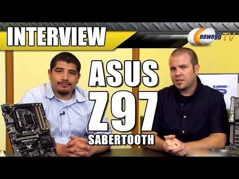 ASUS Z97 Sabertooth Motherboard Interview - Newegg TV