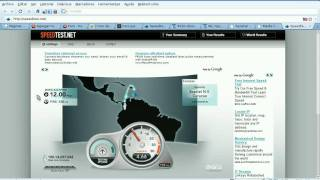 Canal Corporativo Media Commerce Telecomunicaciones Colombia - Test de Velocidad 12 Megas