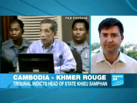 CAMBODIA - UN-backed tribunal indicts four Khmer Rouge leaders