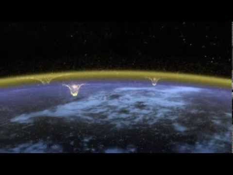 Storm Chasing In A Jet - Capturing Upper-atmospheric Lightning video