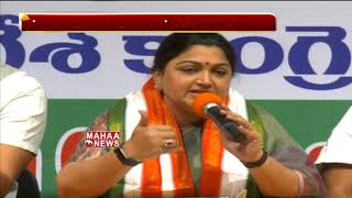 Congress Leader Kushboo Fires On KCR and Modi