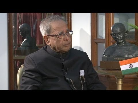 Indian President Pranab Mukherjee: