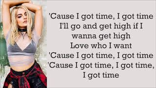 Download Lagu Bebe Rexha ~ I Got Time ~ Lyrics Gratis STAFABAND