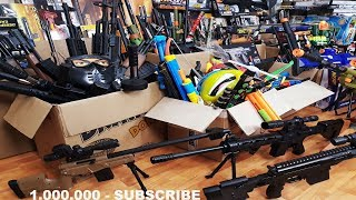 Box of Toys !!! 1.000.000 SUBSCRIBE - Guns Toys For Kids