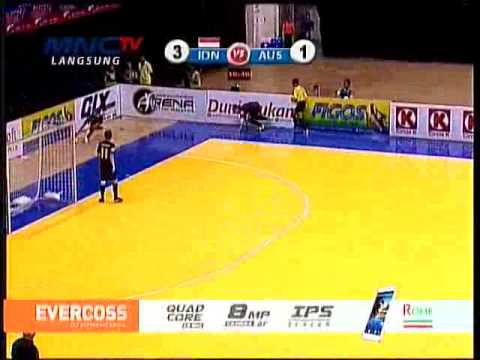 Aff Futsal 2014   Indonesia Vs Australia  2nd   4 1  Full