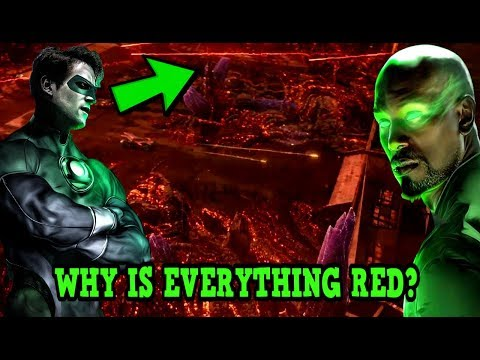 Justice League NEWS Green Lantern To Appear MAJOR REVEAL?Why is Everything Red In New Trailer? thumbnail