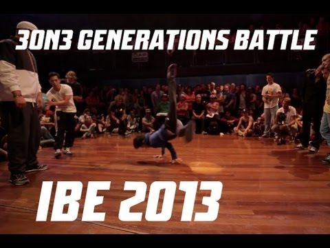 IBE 2013 | 3 on 3 Generations Battle Final | Hustle Kids vs....
