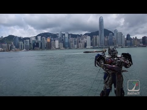 Transformers Age of Extinction Hong Kong World Premiere
