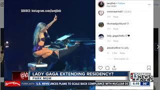 Lady Gaga staying in Vegas?