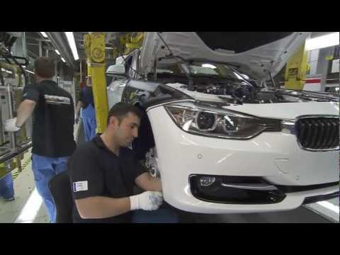 BMW 3 Series Production BMW Munich Plant Full HD
