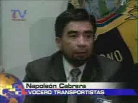Congreso debate ley de tránsito