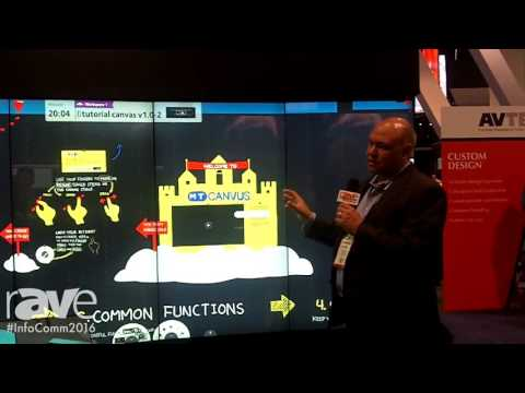 InfoComm 2016: MultiTaction Displays Curved iWall With MT Canvus