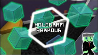 The Hologram Parkour Challenge - INVISIBLE BLOCKS!?