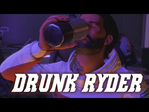 Mass Effect Andromeda: Ryder Getting Drunk at Vortex