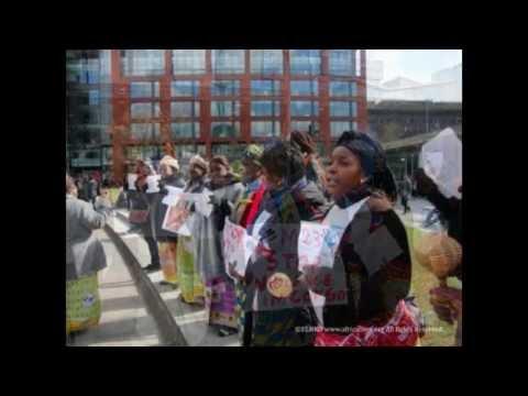SHANA MONGWANGA - BBC INTERVIEW 2013 - Rape in Congo DRC and UK New Initiative