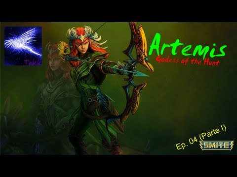 SMITE - Ep. 04 - Personagens iniciais (Parte 1/7) - Artemis, Godess of the Hunt