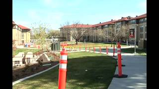 Southern Oregon University Starting to Put up Brackets for Solar Panels