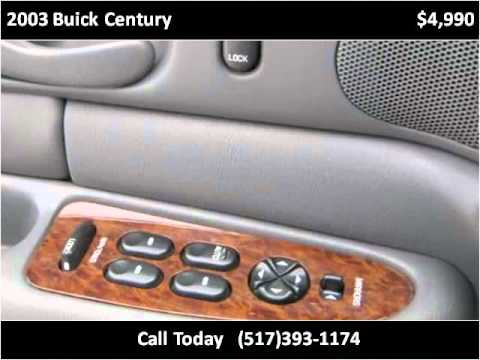 2003 Buick Century available from Celebrity Auto & RV