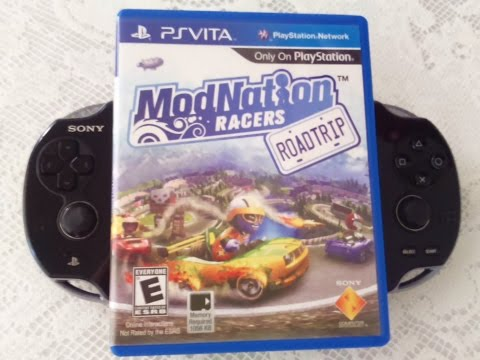 PlayStation Vita: Modnation Racers Road Trip Gameplay Português BR