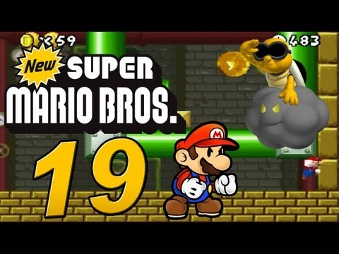 New Super Mario Bros. DS : Let's Play New Super Mario Bros. DS Part 19: Lakithunder