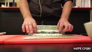 Море Суши мастер-класс ролл Калифорния с креветками