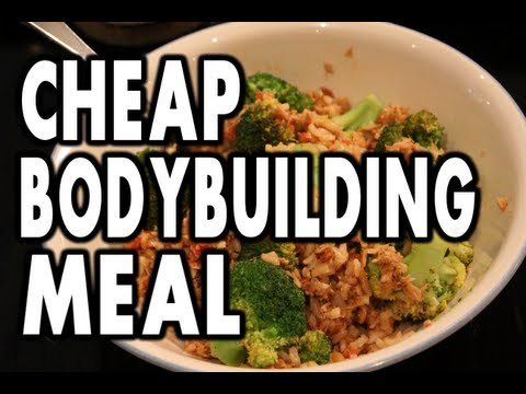 CHEAP Bodybuilding Meal Example:  10 Minute Tuna & Rice Recipe